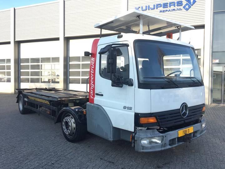Mercedes-Benz 812 L Wiesel / Mafi / Wechsel / Kamag / Rangier / Umsetzer - 2001