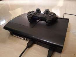 Super slim PlayStation 3 with 250gb and pre installed GAMES