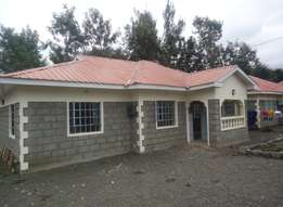 Three bedroom bungalow to let in matasia Ngong