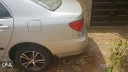 Toyota corolla (3 months used)