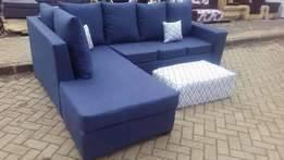 6 seater pure fabric seat