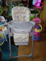 Baby high chair feeding chair with adjustable positions