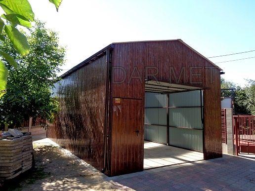 Wiata Wiaty Hala Hale Garaż Garaże Warsztat Profil Projekt Dar Met