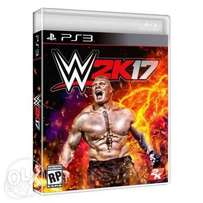 WWE 2K17 game ps3