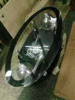 Black oval glass table
