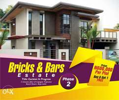 Bricks and bars estate ibeju~lekki...Promo