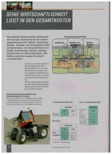 Fendt Xylon 524 Motor: 3000 BH - 2001 - image 12