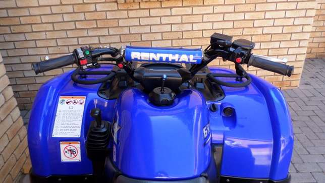 Yamaha Grizzly 660 utility quad,As New condition.Only 1750kms. Centurion - image 3