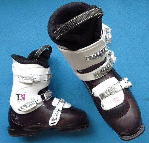 Buty narciarskie SALOMON T3 23,0 36,0 juniorskie dzieciece