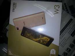 brandnew tecno w3+FREE screen guard and FREE back cover at 7,300
