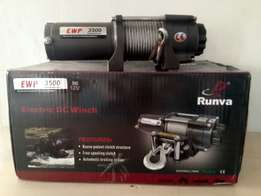 RUNVA NVM3500 LBS 12V electric cable winch