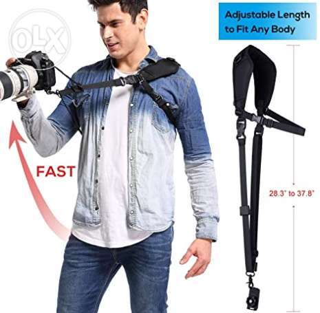 Camera Neck Strap with Quick Release, heavy duty