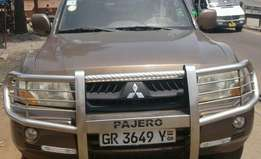Pajero, 2007 model for sale at affordable price.