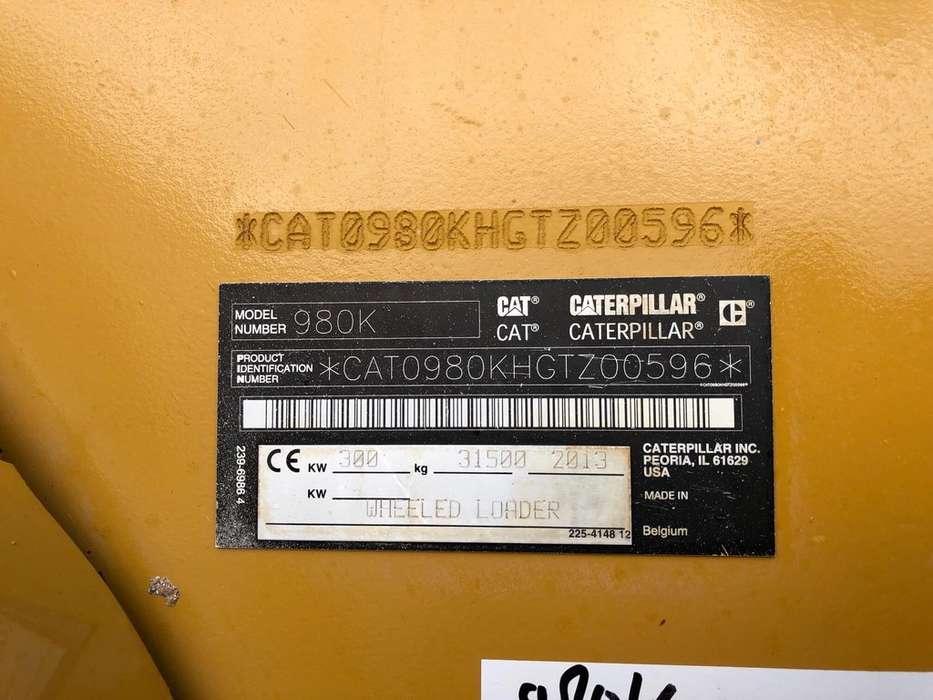 Caterpillar 980K wheel loader - 2013 - image 29