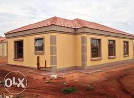 New houses in soshanguve next to a mall and two new private school.