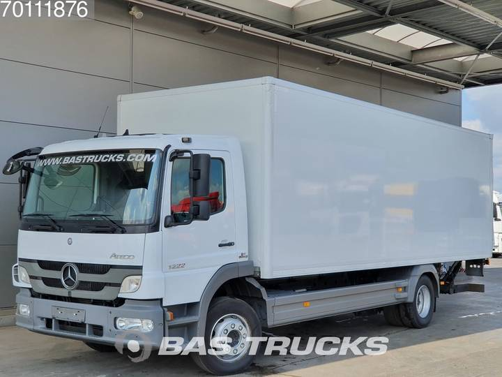 Mercedes-Benz Atego 1222 L 4X2 Manual Ladebordwand Euro 5 - 2013