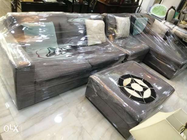 L shape sofa and Dining table contact WhatsApp