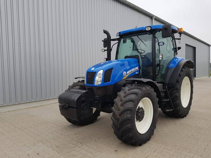 New Holland T 6.155 ElectroCom. - 2015