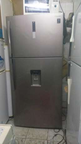 New arrivals ex uk silver samsang double door fridge very big Nairobi CBD - image 2