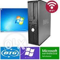 dell desktops dualcore 2GB RAM 160GB HDD DVDWRT