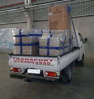 Goods Transport from R300 per trip