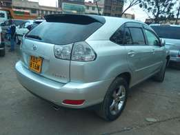 Toyota Harrier all documents with me KBS registration silver