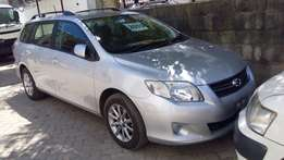 Toyota fielder brand new car