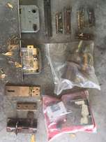 Lock and Hinges Lot