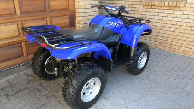 Yamaha Grizzly 660 utility quad,As New condition.Only 1750kms. Centurion - image 5