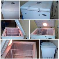 Home used Hier Thermocool Deep Freezer, 160 Litres