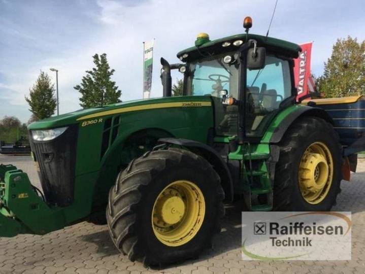 John Deere 8360 r auto power - 2013
