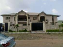 Newly built four bedrooms duplex at Akobo