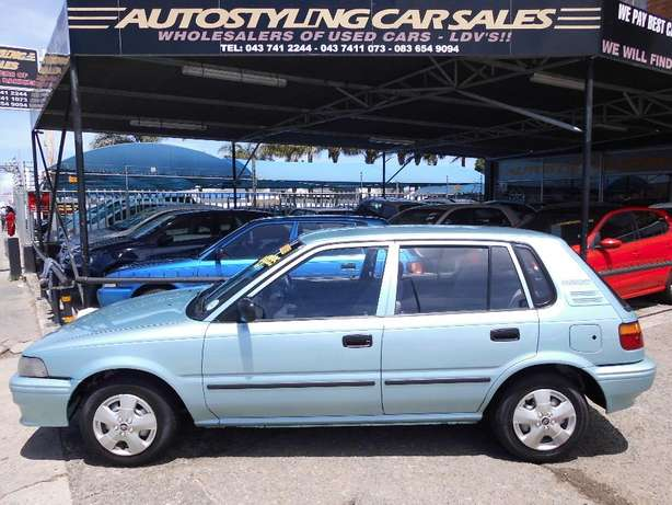 Autostyling Car Sales-East London-2000 Toyota Tazz + acon Only R49995 East London - image 1
