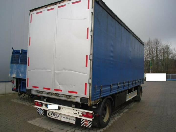 Fliegl ZPS 180 + Edscha + Reifen 80% + TÜV 02/2020 - 2012