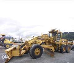 Motor grader 14 g/ import from USA Will reach Dubai soon