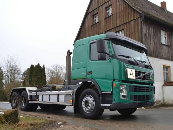 Volvo FM 420 6x2 Abroller Meiller AHK Schlafkab - 2002
