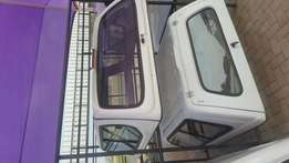 Ranger mazda double cab canopy midvaal canopies