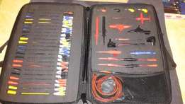 Automotive diagnostic test lead kit