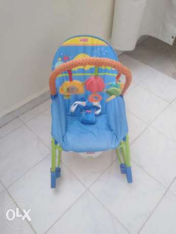 Fisher price rocker جونيه -  1