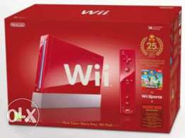 Nintendo Wii Limited edition 25th Anniversary