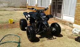 Yamaha Blaster quad bike