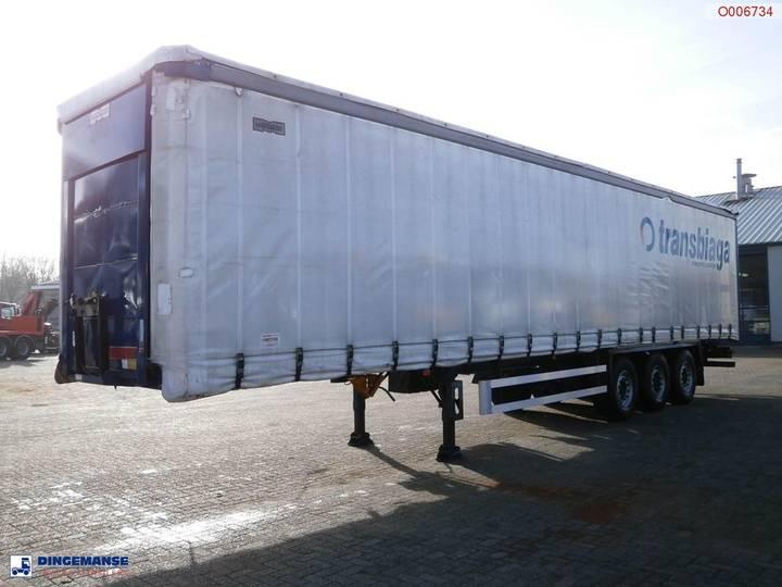 Montenegro 3-axle Curtain side trailer SPK-3S/3G - 2006
