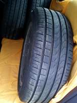 Rims and tyres 205/55/16 pcd 112/5