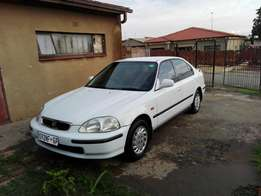 Very neat Honda Ballade Automatic to swap for Any Toyota Tazz or Corol