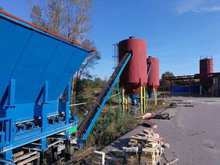 LINIYa PO PROIZVODSTVU KIRPIChA concrete block machine - 2016