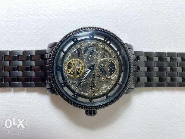 Stuhrling 3923 2 Special Reserve Automatic Dual Time Stainless Steel M الخبر -  2