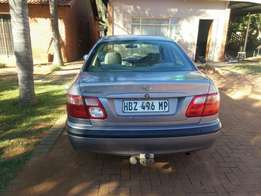 Nissan almera 1.6 for sale or to swop for bakkie. Willing to pay in.