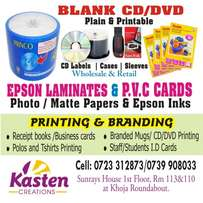 Photocopy papers| Laminates | CD /DVD Blank | photo papers | PVCcards