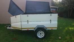 2011 BSA 6 Foot Trailer with nosecone and extension