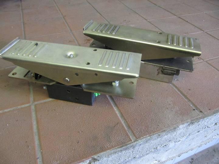 Hydrocontrol   Hydraulisch voetbedienings ventielen